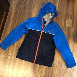 Patagonia Kids Rain Jacket Size 12 Boys
